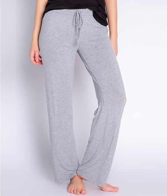 P.J. Salvage Modal Pajama Pants in Heather Grey RIBAP
