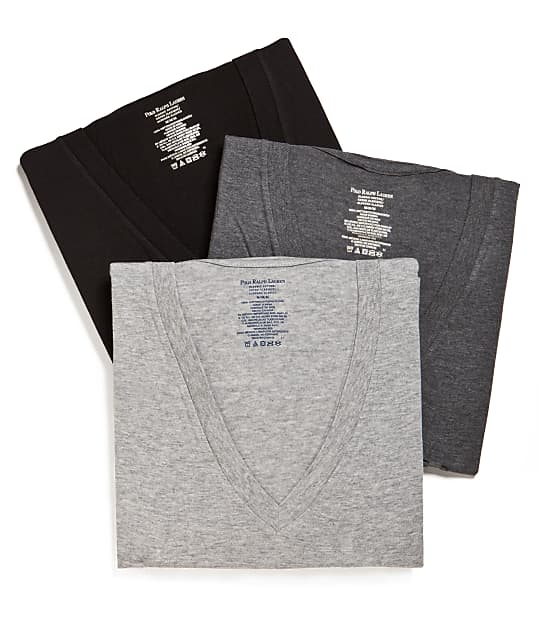 Polo Ralph Lauren: Classic V-Neck T-Shirts 3-Pack
