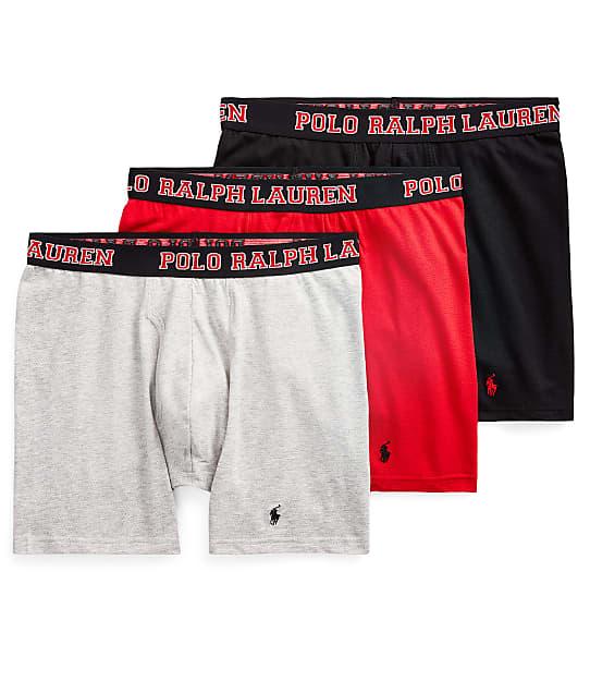 Polo Ralph Lauren: 4-D Flex Breathable Mesh Boxer Brief 3-Pack