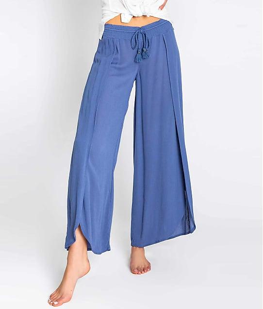 P.J. Salvage: Beach Blues Woven Pants