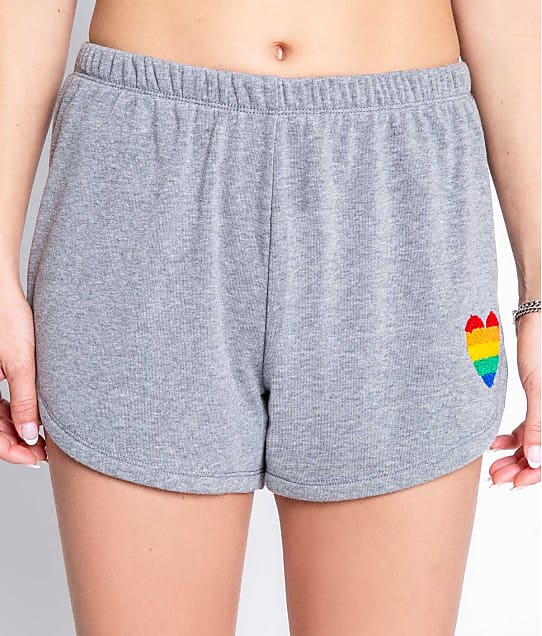 P.J. Salvage: Love Rules Knit Shorts