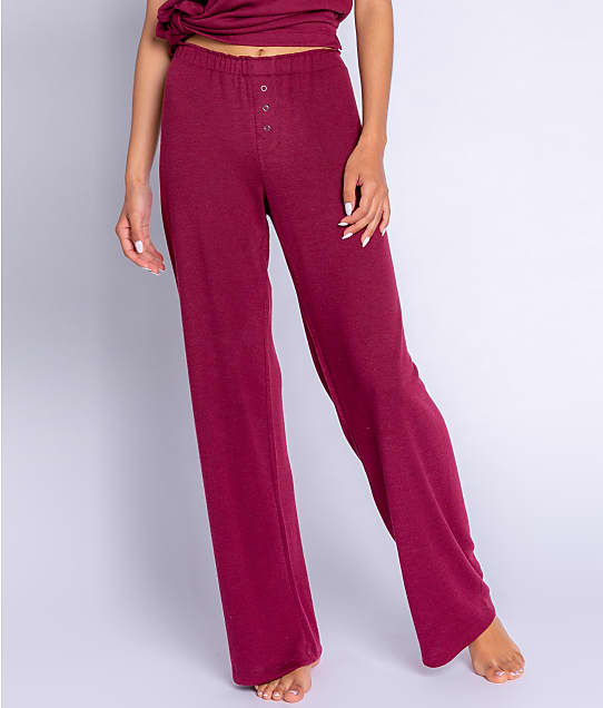 P.J. Salvage Reloved Lounge Knit Pants in Port RZRLP