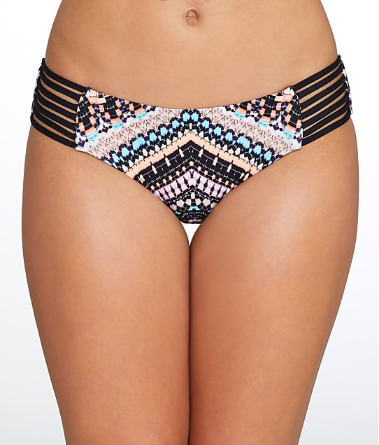 Seafolly: Indian Summer Strappy Bikini Bottom