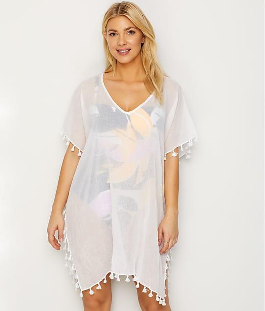 Seafolly Amnesia Cotton Gauze Swim Cover-Up in White 52162