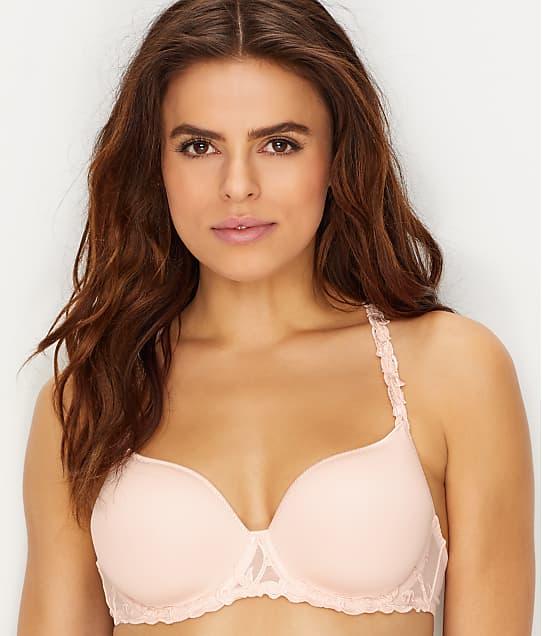 Simone Perele Andora 3D Convertible Plunge T-Shirt Bra in Blush(Front Views) 131316