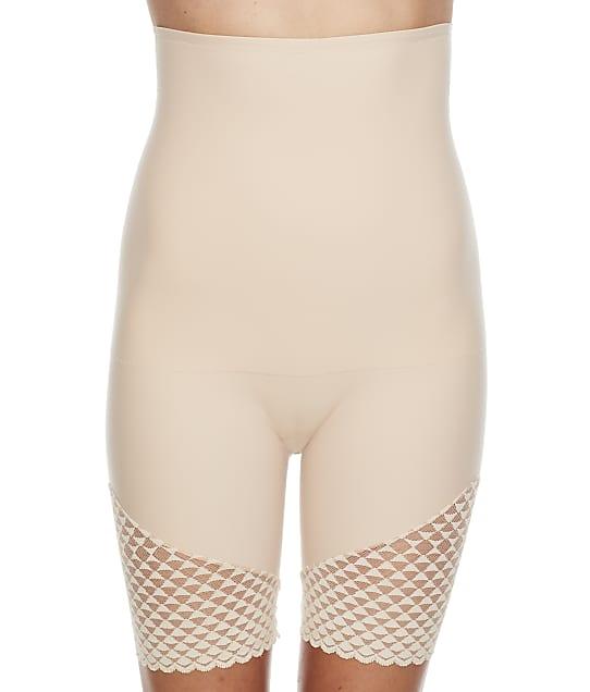 Simone Perele High-Waist Shaper Shorts in Peau Rose 19Y671