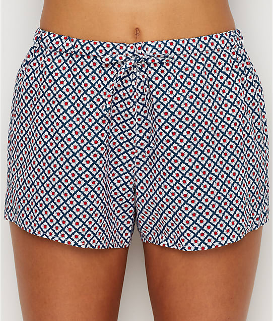Sleepy Jones: Paloma Woven Cotton Pajama Shorts