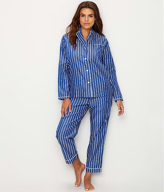 Sleepy Jones: Bishop Stripe Woven Cotton Pajama Set