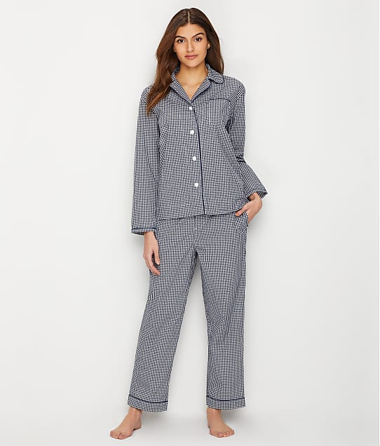 Sleepy Jones: Bishop Gingham Woven Cotton Pajama Set