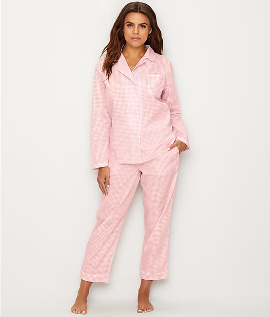 Sleepy Jones: Bishop Gingham Woven Cotton Pajama Set