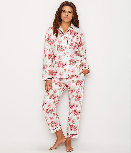Sleepy Jones: Bishop Polka-Dot Floral Woven Cotton Pajama Set
