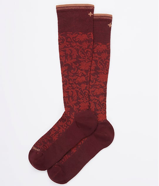 Sockwell: Damask Moderate Graduated Compression Socks