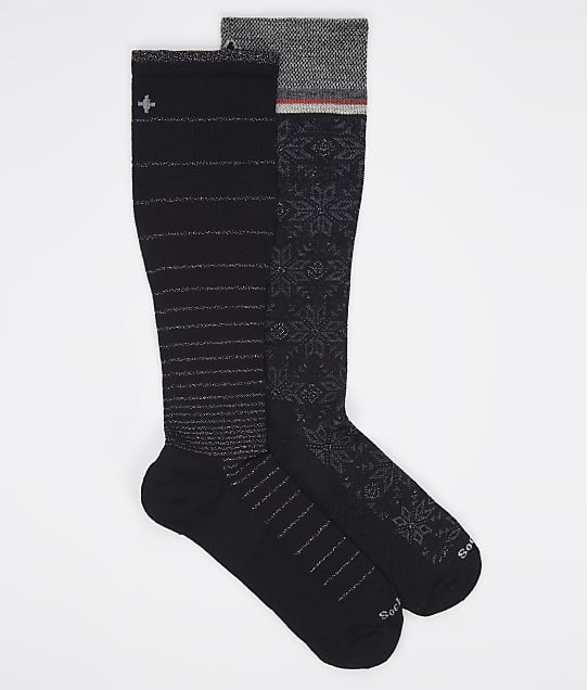 Sockwell: Holiday Sparkle Compression Socks 2-Pack
