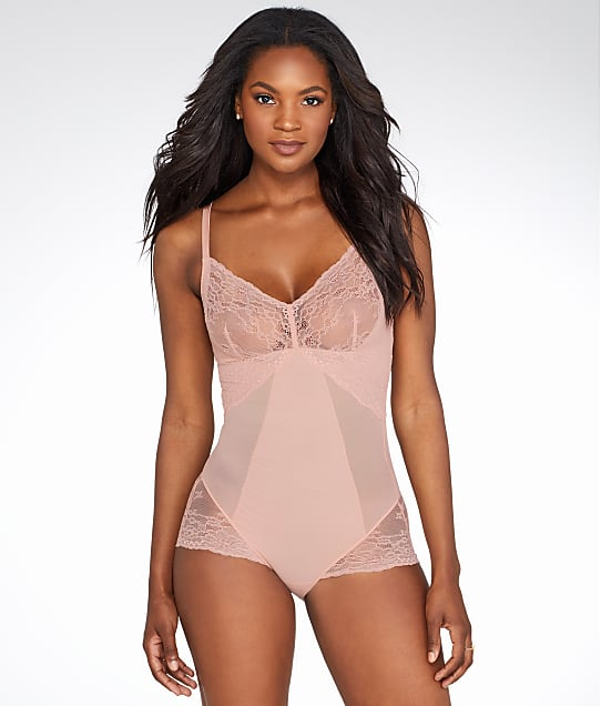 SPANX Lace Collection Wire-Free Bodysuit in Vintage Rose 10119R