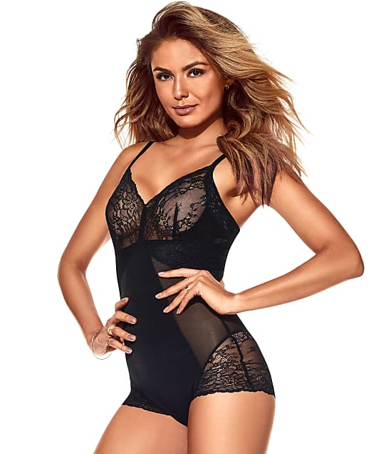 SPANX: Plus Size Lace Collection Wire-Free Bodysuit
