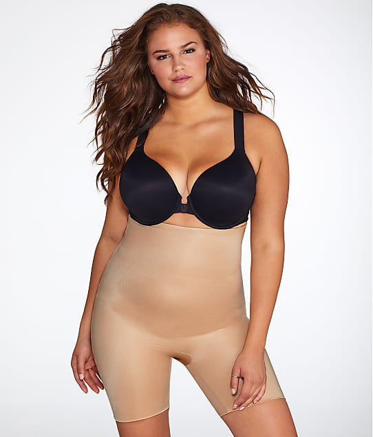 SPANX: Plus Size Power Conceal-Her Medium Control High-Waist Short