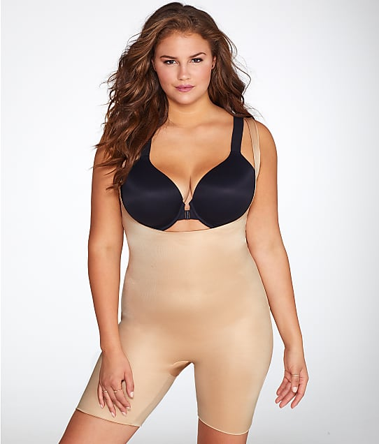 SPANX: Plus Size Power Conceal-Her Medium Control Open-Bust Bodysuit