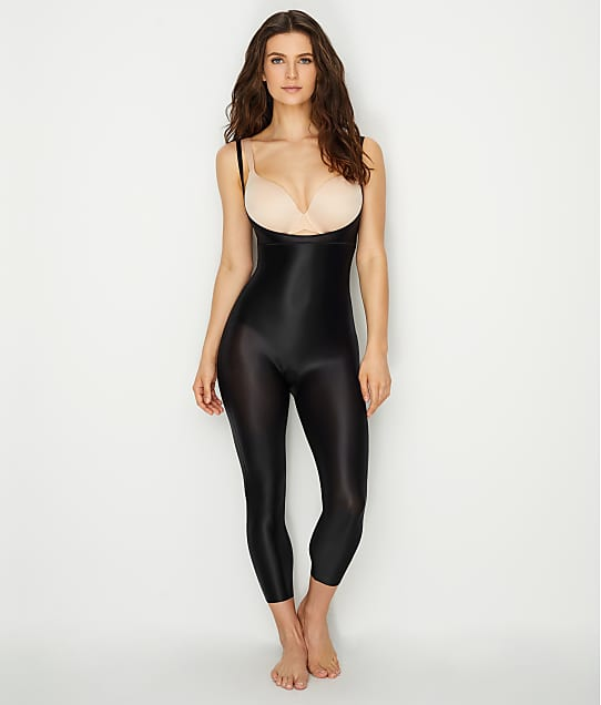 SPANX: Suit Your Fancy Medium Control Open Bust Catsuit