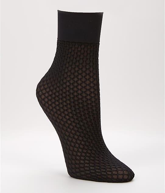 SPANX: Honeycomb Fishnet Half-Calf Socks