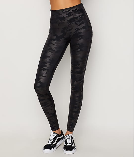 6d72f75c15f3 SPANX Faux Leather Camo Leggings