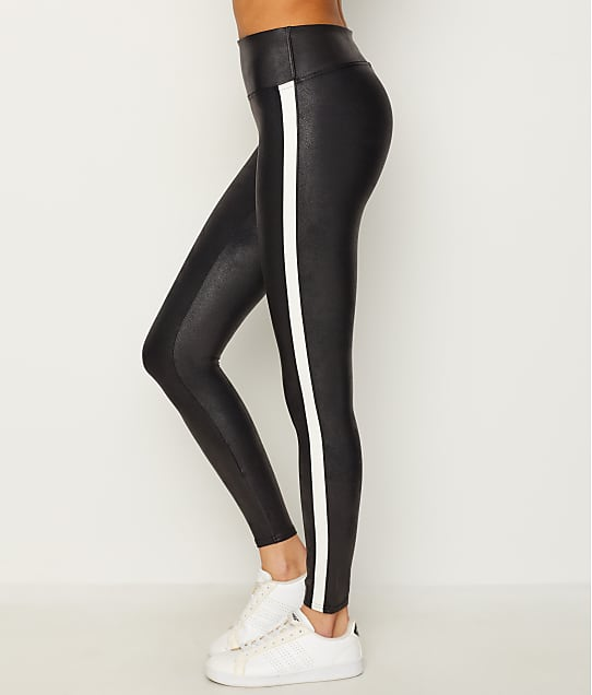 6ae78cfd5aa5f SPANX Faux Leather Side Stripe Leggings   Bare Necessities (20187R)
