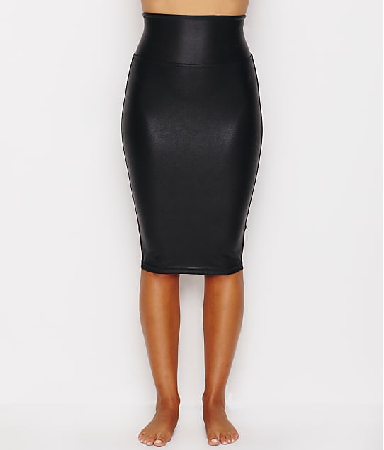 SPANX: Faux Leather Pencil Skirt