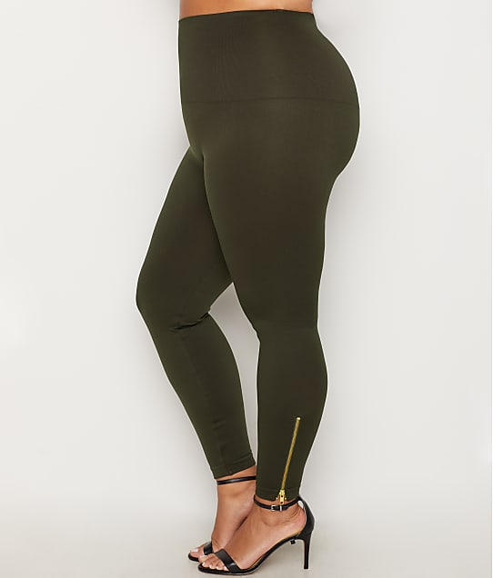 da18d7161f9 SPANX Plus Size Look At Me Now Side Zip Leggings