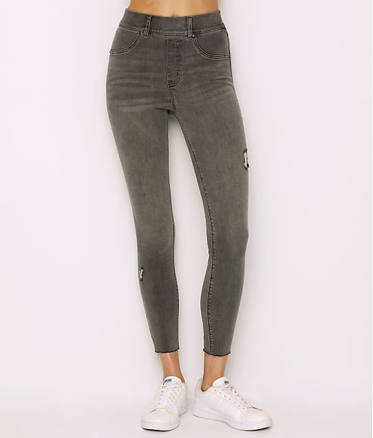 SPANX: Distressed Denim Leggings