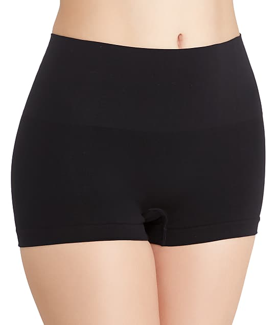 SPANX Everyday Shaping Boyshort in Black(Front Views) SS0915