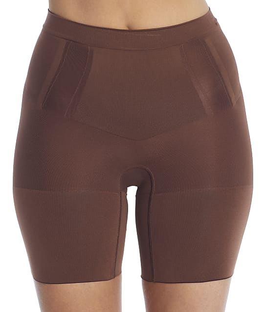SPANX OnCore Firm Control Mid-Thigh Shaper in Chestnut Brown SS6615