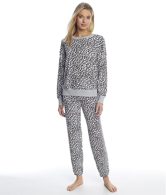 Splendid: Animal Sweater Knit Pajama Set