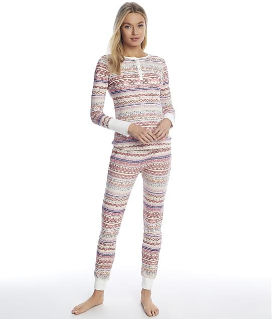 Splendid: Fairisle Thermal Pajama Set