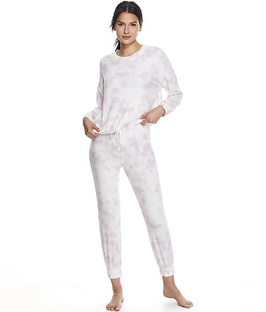 Splendid Nora Knit Pajama Set in Soft Pink RPF1000SE