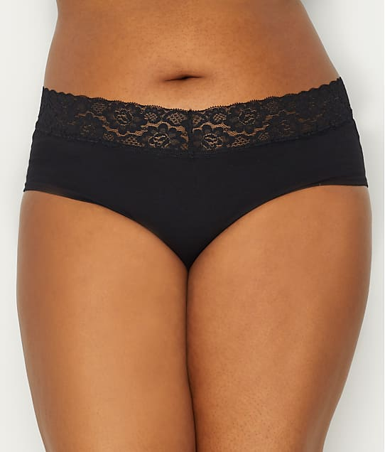 St. Eve: Plus Size V-lace Hipster