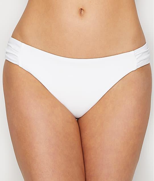 Sunsets: White Lily Femme Fatale Bikini Bottom