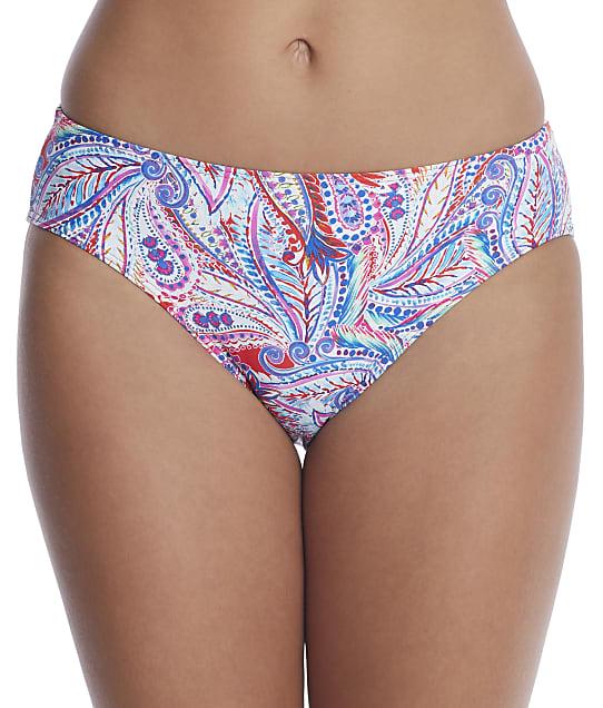 Sunsets: Scarlet Shorebird Basic Bikini Bottom