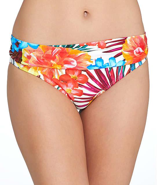 Sunsets: Fiji Flora Banded Bikini Bottom