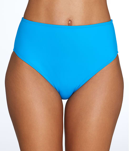 Sunsets: French Blue High-Waist Bikini Bottom