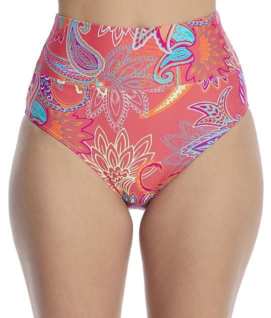 Sunsets: Island Bliss Fold-Over High-Waist Bikini Bottom