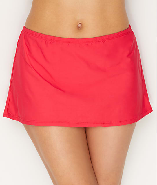 Sunsets: Lovers Coral Kokomo Skirted Bikini Bottom