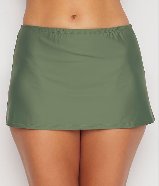 Sunsets Olive Kokomo Skirted Bikini Bottom in Olive(Full Sets) 36B-OLIVE