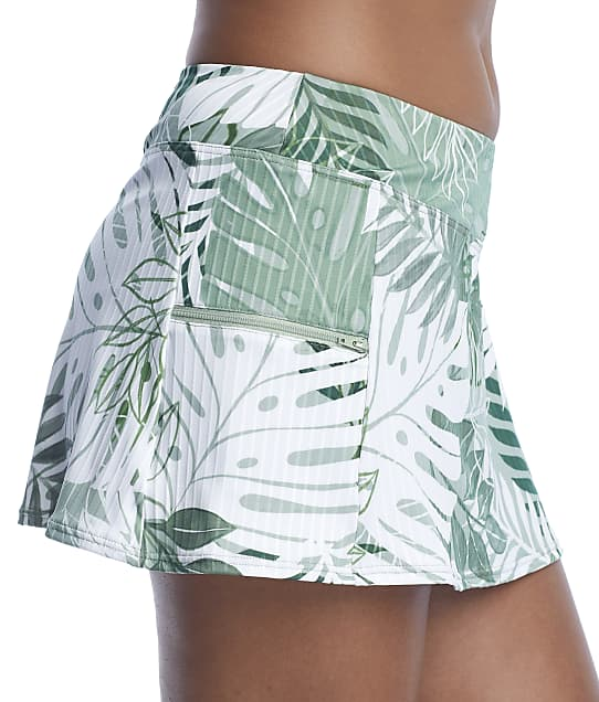 Sunsets: Palm Grove Sporty Skirted Bikini Bottom