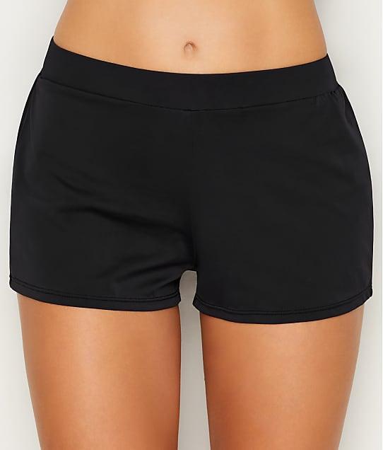 Sunsets: Black Marina Swim Shorts