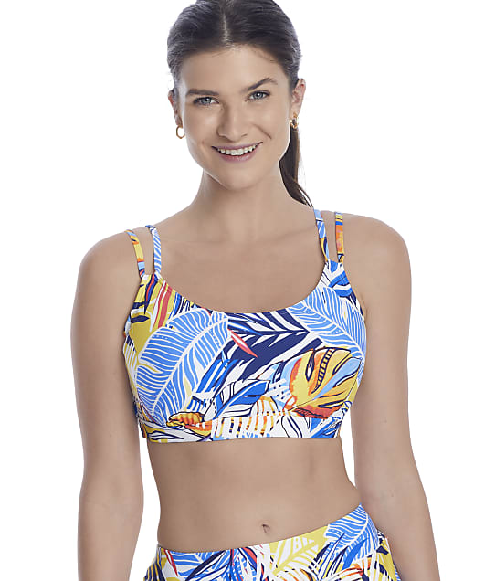 Sunsets Bahama Breeze Taylor Underwire Bikini Top in Bahama Breeze(Front Views) 56D-BAHBR
