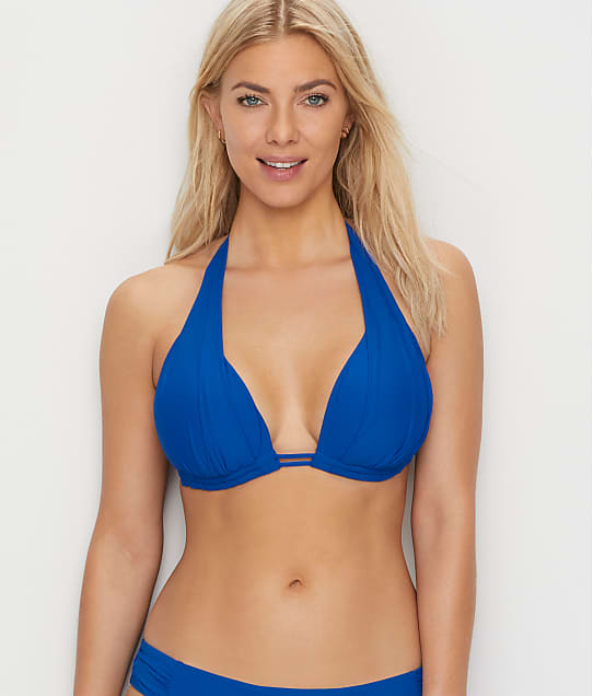 Sunsets: Imperial Blue Marilyn Halter Bikini Top