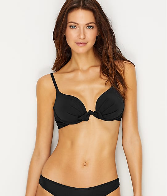 Sunsets: Black Legend Push-Up Bikini Top