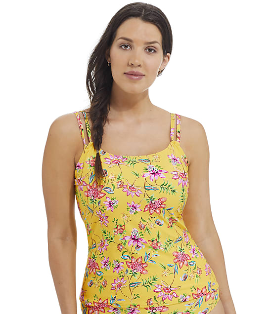 Sunsets Golden Hour Taylor Underwire Tankini Top in Golden Hour(Front Views) 75D-GOLHO
