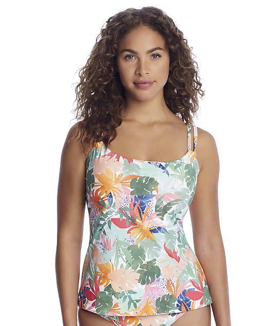 Sunsets Serendipity Taylor Underwire Tankini Top in Serendipity(Front Views) 75D-SEREN
