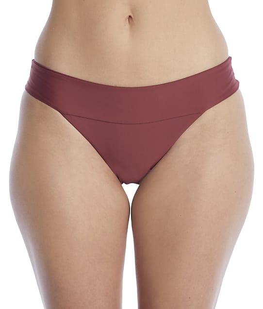Swim Systems: Canyon Clay Bliss Banded Bikini Bottom