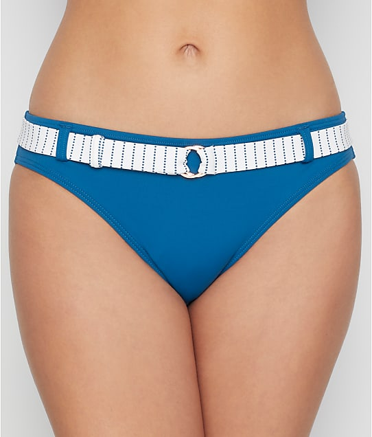 Swim Systems: Maritime Stripe Belted Bikini Bottom